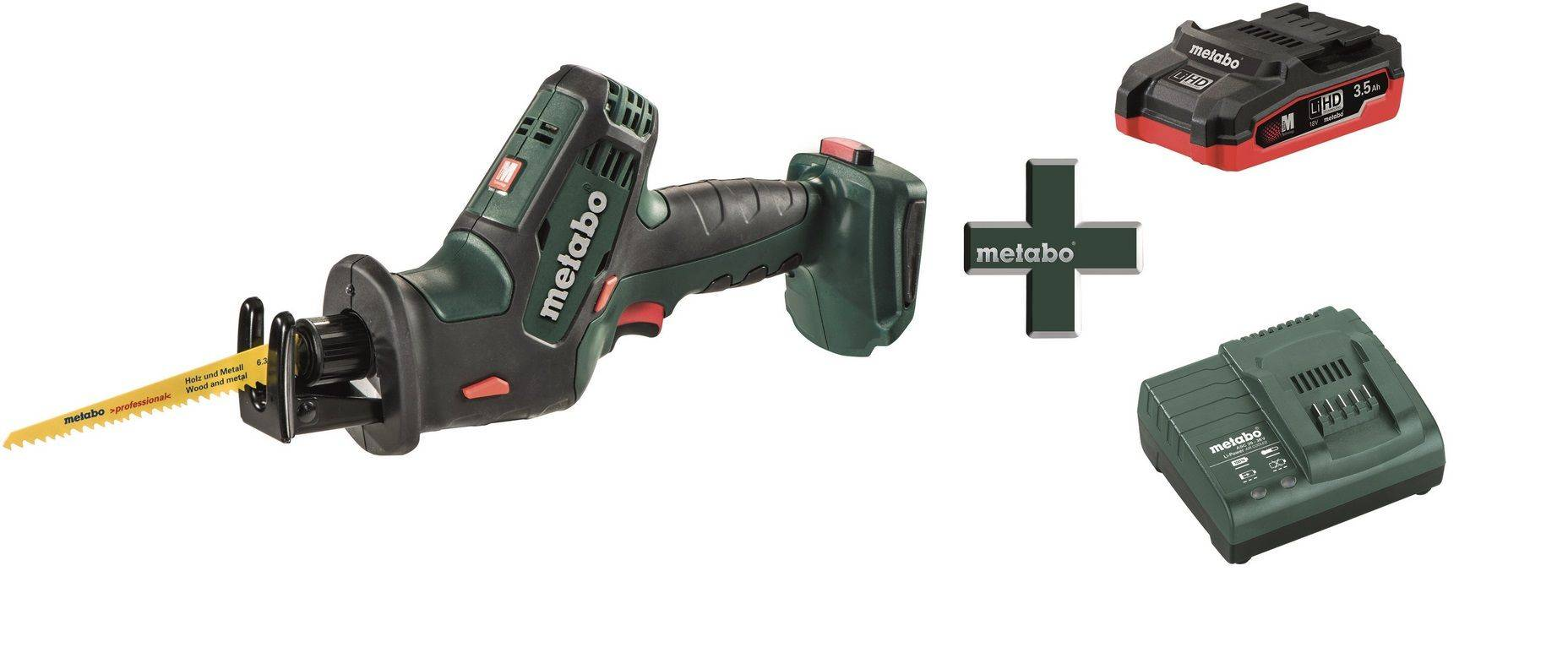 Ножовка аккумуляторная Metabo SSE 18 LTX Compact